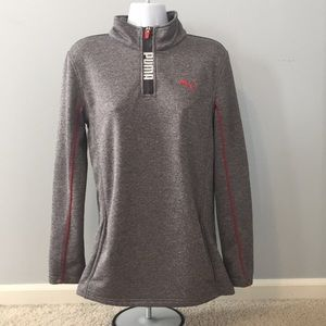 ❗️⬇️Puma Half zip boys/girls active wear pullover